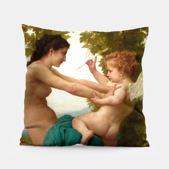 Miniaturka A Young Girl Defending Herself Against Eros Pillow, Live Heroes