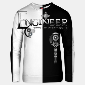 Miniatur Engineer Metallic - Complexity To Reality BWS Unisex sweater, Live Heroes