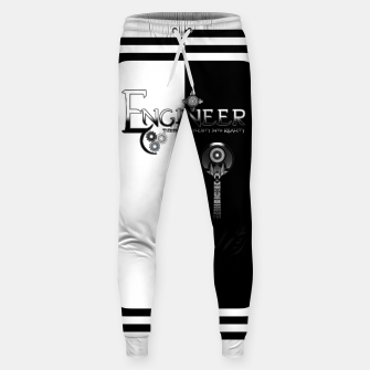 Miniatur Engineer Metallic - Complexity To Reality BWS Sweatpants, Live Heroes