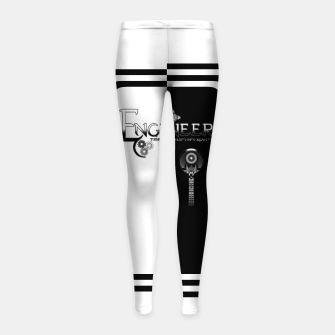 Miniatur Engineer Metallic - Complexity To Reality BWS Girl's leggings, Live Heroes