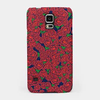 Miniatur Roses are Red Samsung Case, Live Heroes