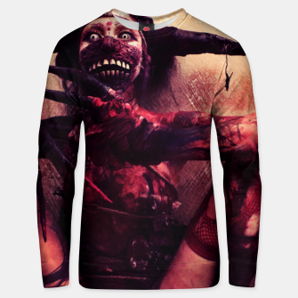 Thumbnail image of Demon sExxx Unisex sweater, Live Heroes