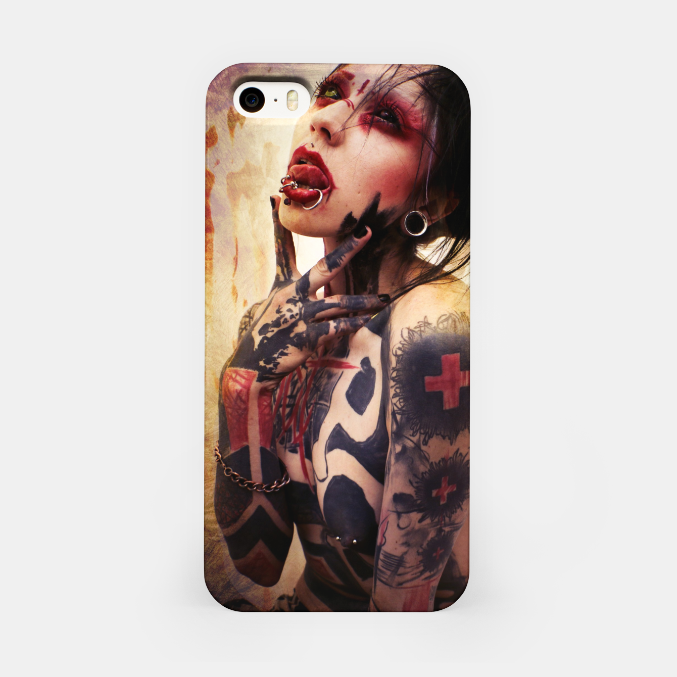 Image of MOuthPlAy iPhone Case - Live Heroes
