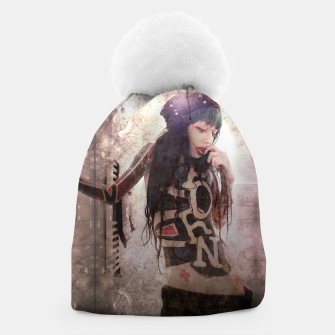 Thumbnail image of P.O.R.N Beanie, Live Heroes