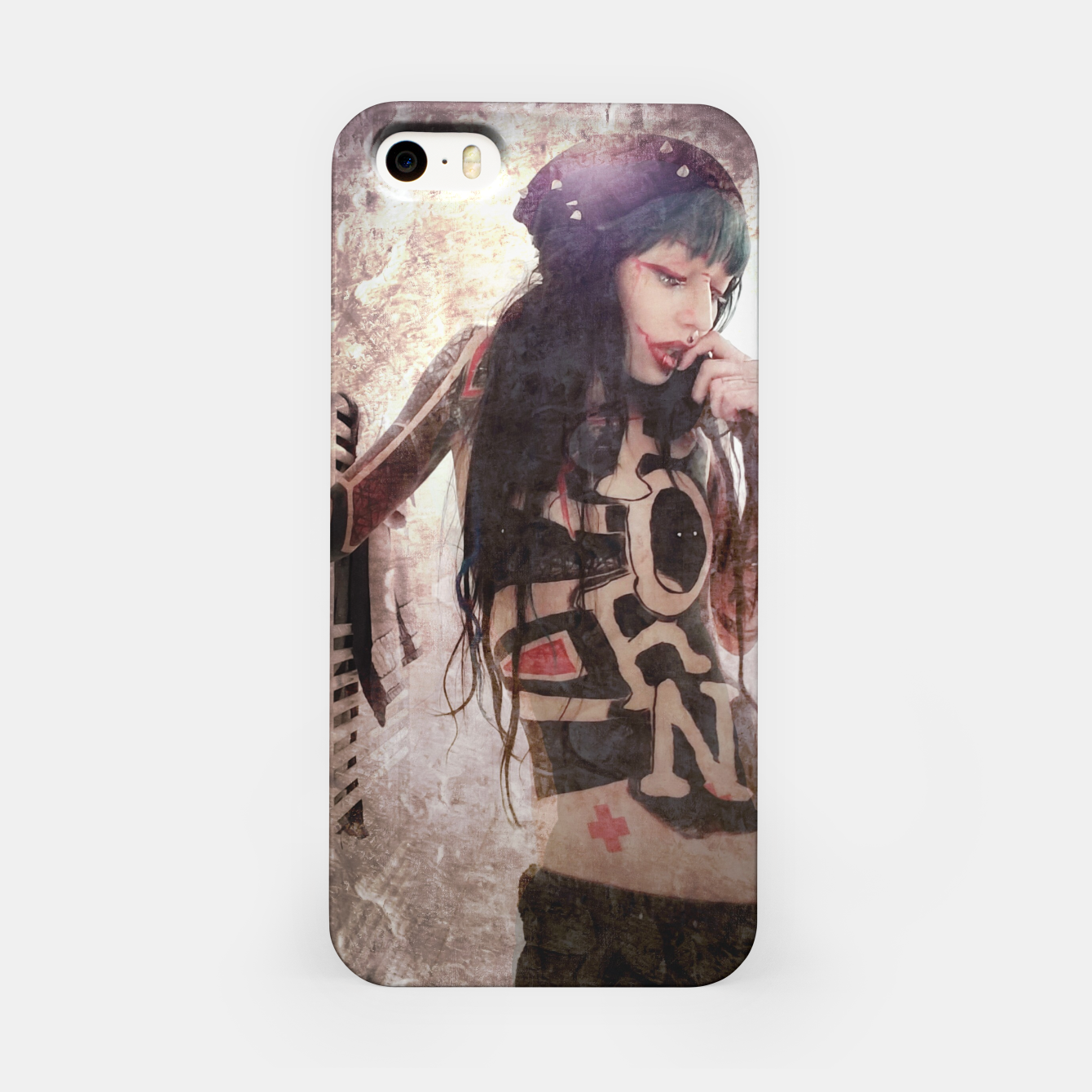 Image of P.O.R.N iPhone Case - Live Heroes