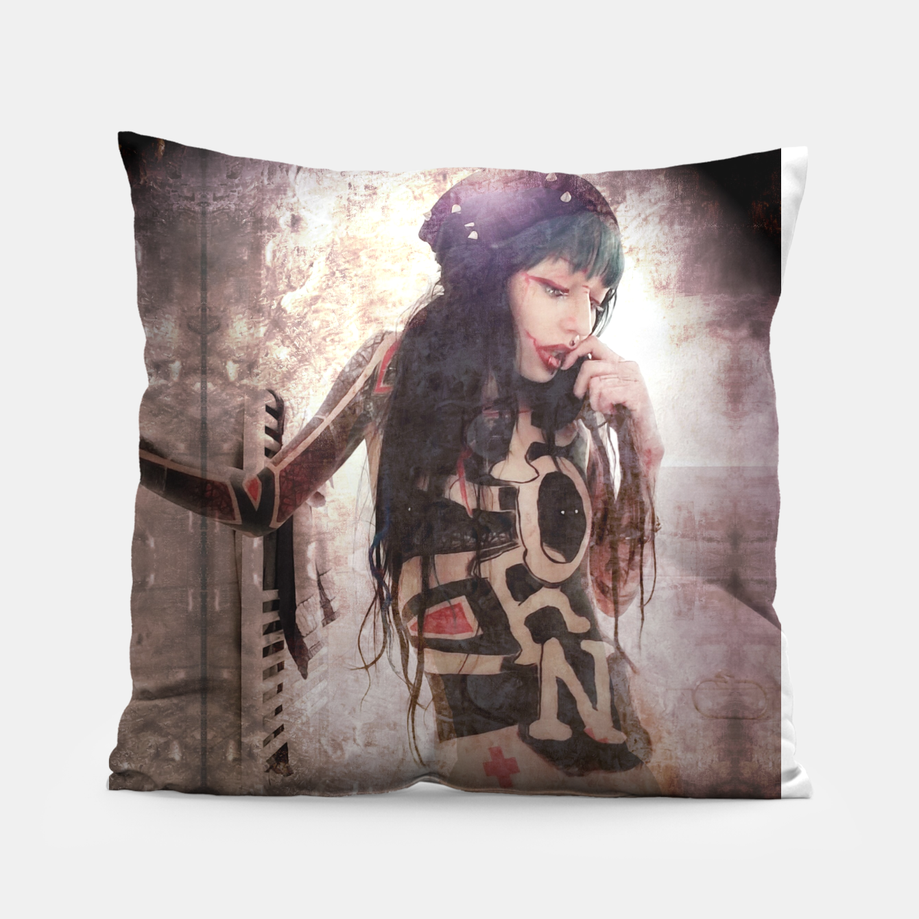 Image of P.O.R.N Pillow - Live Heroes