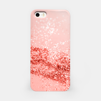 Thumbnail image of Sparkling Living Coral Lady Glitter #2 #shiny #decor #art iPhone-Hülle, Live Heroes