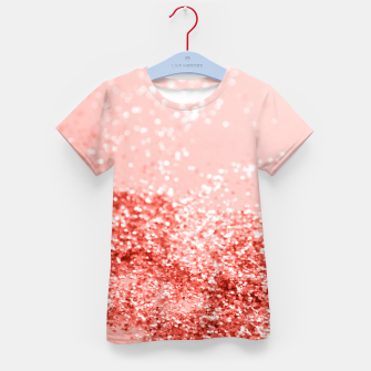 Thumbnail image of Sparkling Living Coral Lady Glitter #2 #shiny #decor #art T-Shirt für kinder, Live Heroes