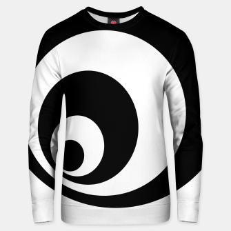 Thumbnail image of Abstract - black  and white. Unisex sweater, Live Heroes