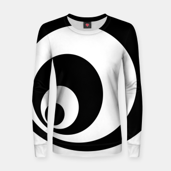 Imagen en miniatura de Abstract - black  and white. Women sweater, Live Heroes