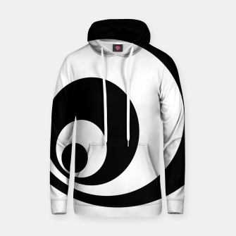 Thumbnail image of Abstract - black  and white. Hoodie, Live Heroes