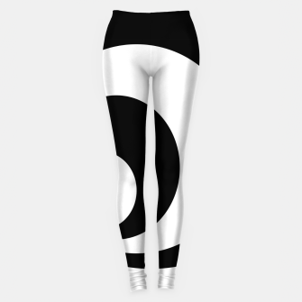 Miniaturka Abstract - black  and white. Leggings, Live Heroes