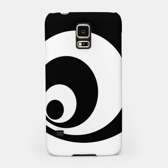 Miniaturka Abstract - black  and white. Samsung Case, Live Heroes
