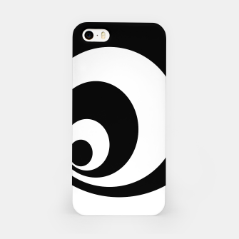 Imagen en miniatura de Abstract - black  and white. iPhone Case, Live Heroes