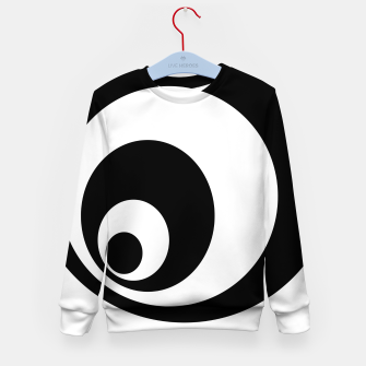 Imagen en miniatura de Abstract - black  and white. Kid's sweater, Live Heroes