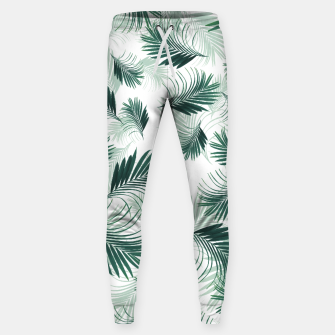 Imagen en miniatura de Tropical Green Palms Pattern #1 #tropical #decor #art  Hosen, Live Heroes