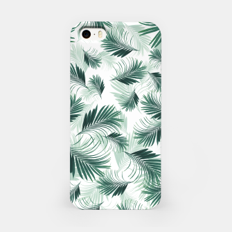 Imagen en miniatura de Tropical Green Palms Pattern #1 #tropical #decor #art  iPhone-Hülle, Live Heroes