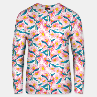 Thumbnail image of Pink Floral V2 Unisex sweater, Live Heroes