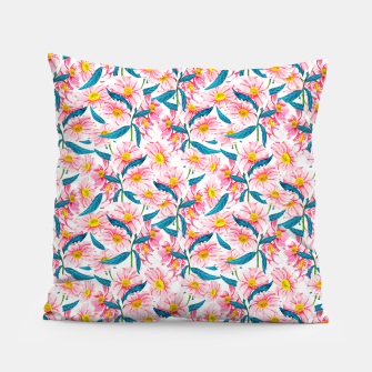 Thumbnail image of Pink Floral V2 Pillow, Live Heroes