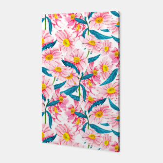 Thumbnail image of Pink Floral V2 Canvas, Live Heroes