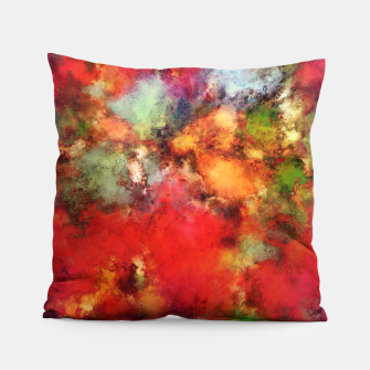 Thumbnail image of A red road Pillow, Live Heroes