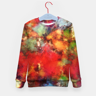 Thumbnail image of A red road Kid's sweater, Live Heroes