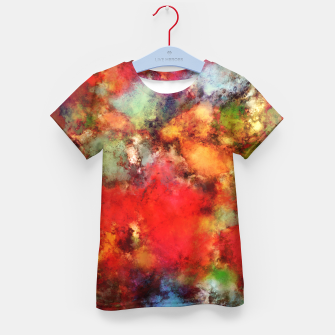 Thumbnail image of A red road Kid's t-shirt, Live Heroes