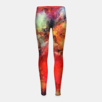 Imagen en miniatura de A red road Girl's leggings, Live Heroes