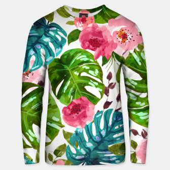 Thumbnail image of Tropical Shades Unisex sweater, Live Heroes