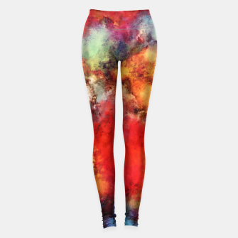 Thumbnail image of A red road Leggings, Live Heroes