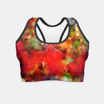 Thumbnail image of A red road Crop Top, Live Heroes