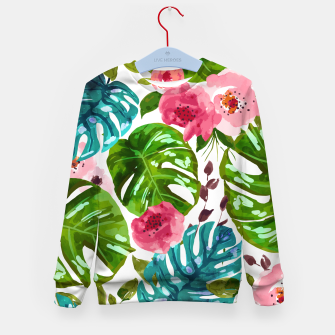 Imagen en miniatura de Tropical Shades Kid's sweater, Live Heroes