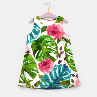 Imagen en miniatura de Tropical Shades Girl's summer dress, Live Heroes