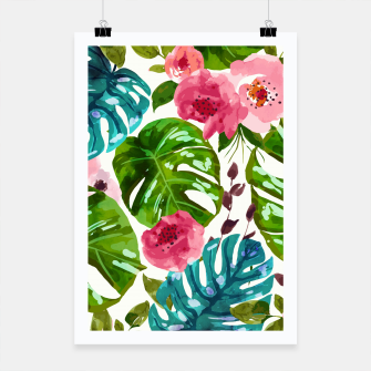 Miniatur Tropical Shades Poster, Live Heroes