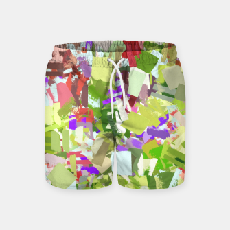 Thumbnail image of Green Freshness Swim Shorts, Live Heroes