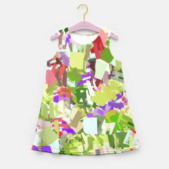 Miniature de image de Green Freshness Girl's summer dress, Live Heroes