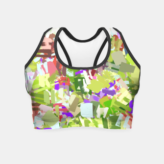 Miniature de image de Green Freshness Crop Top, Live Heroes