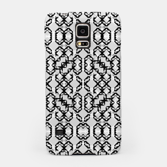 Thumbnail image of Black and White Modern Geometric Pattern Samsung Case, Live Heroes