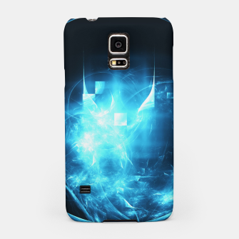 Thumbnail image of As cold as ice Abstract Fractal Art Design Samsung Case, Live Heroes