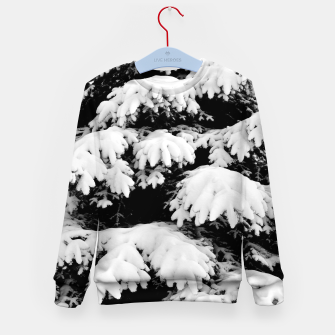 Imagen en miniatura de Snow-covered fir tree  Kid's sweater, Live Heroes