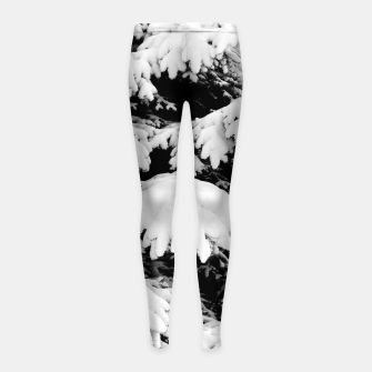 Imagen en miniatura de Snow-covered fir tree  Girl's leggings, Live Heroes