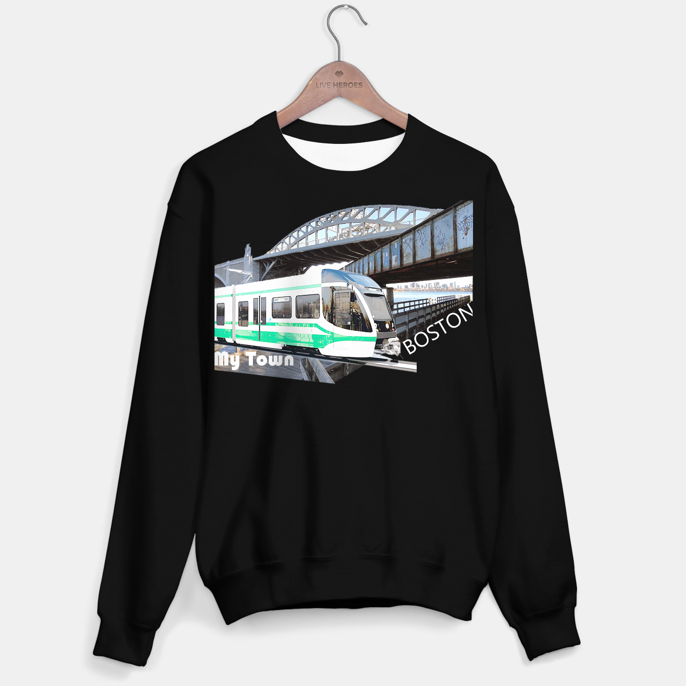 Image of Boston My Town Sweater regular - Live Heroes