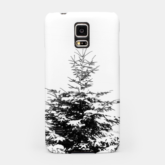 Miniaturka Fir Tree Covered With Snow Samsung Case, Live Heroes