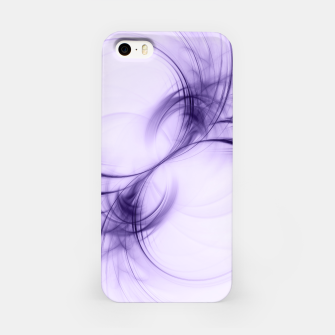 Thumbnail image of Ultraviolet Pulsar Abstract Fractal Art Design iPhone Case, Live Heroes