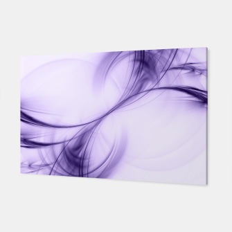 Thumbnail image of Ultraviolet Pulsar Abstract Fractal Art Design Canvas, Live Heroes