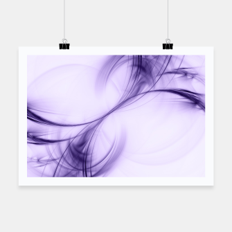 Thumbnail image of Ultraviolet Pulsar Abstract Fractal Art Design Poster, Live Heroes