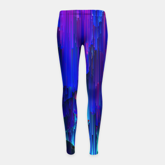 Thumbnail image of In the Midst Girl's leggings, Live Heroes
