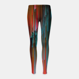 Thumbnail image of Nice Day for a Walk Girl's leggings, Live Heroes