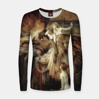 Miniaturka The Lament for Icarus by Herbert James Draper Women sweater, Live Heroes