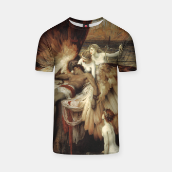 Miniaturka The Lament for Icarus by Herbert James Draper T-shirt, Live Heroes